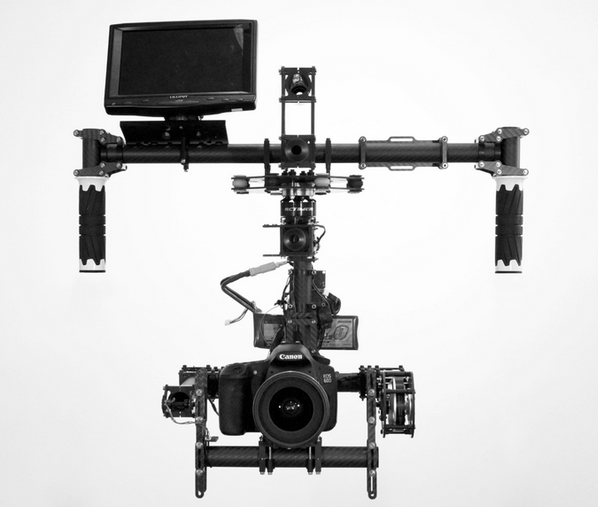 Stabil i4 3-axis Camera Gimbal Stabilizer Handles DSLR's & RED's Gets a Kickstarter Campaign: