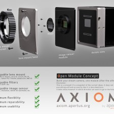 That Axiom Open Module Concept Camera Has Swappable Sensors, Filters & More: