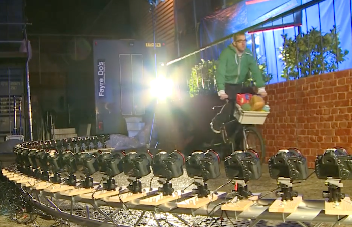 The Camera Hire Company Use 34 Canon 5D MKIII Cameras For a Bullet Time Style Rig: