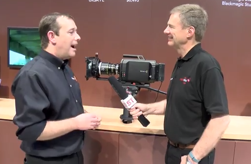 In Depth NAB Booth Interview With Blackmagic Design: