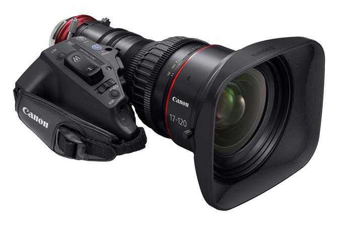 Canon 17-120mm T2.95 CINE-SERVO Zoom Lens Drops for NAB 2014: