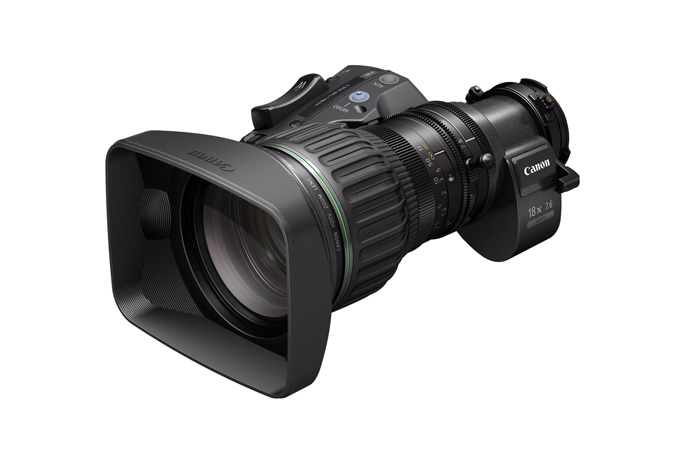 Canon HJ18ex7.6B Portable HD Eng Lens: