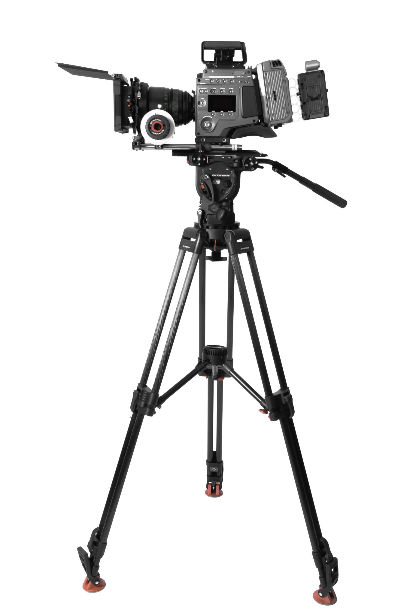 OConnor 60L Tripod & 3 NEW Follow Focus Units at NAB 2014: