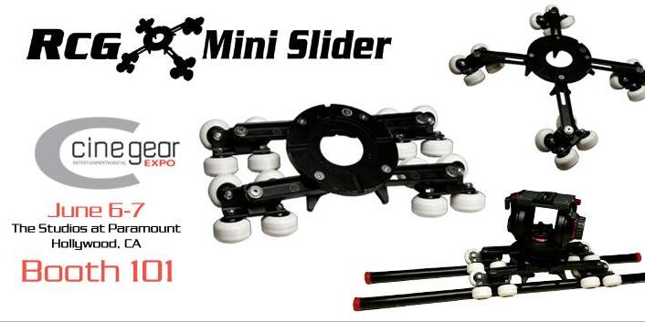 Sneak Peek… RCG Mini Slider Coming to Cine Gear: