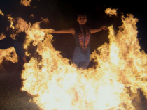 Phantom 4K Camera and Fire… Slowed Down, Way Down: