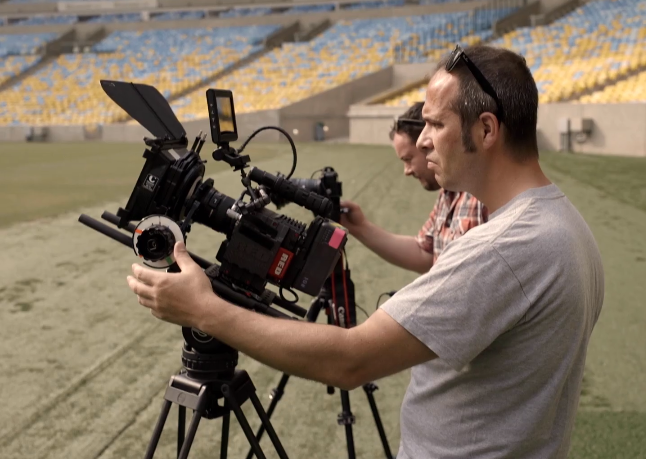 World Cup 2014 BBC Title Sequence Shot On a RED Carbon EPIC Dragon Camera at 6K: