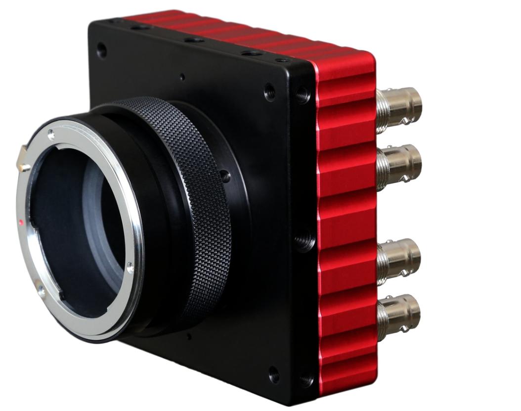 Sneak Peek Of The IO Industries 4KSDI 4K Camera Head Coming To IBC