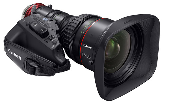Taking Preorders on The New Canon Cine Servo 17-120mm T2.95 EF Zoom at Band Pro