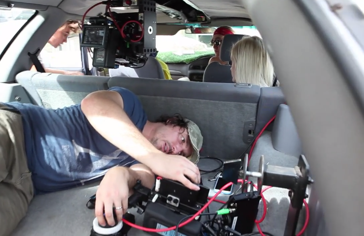 Fantastic BTS: Single Take Filming in the Fetal Position on The Making of 'Saramona Said'