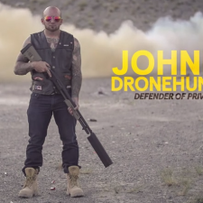 Johnny Dronehunter: Defender of Privacy… Shoot Down Your Drone Boy!