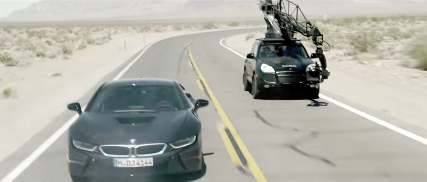 BTS… Making of The Gus Van Sant BMW i8 Commercial Shot on RED: