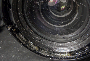 What To Do If Your Lens Goes In The Water, Don't Let It End Up Like This!