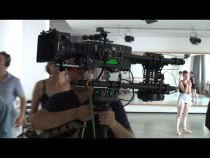 Porta Head 10 Brushless Gimbal Prototype on a Steadicam With an ARRI Alexa Camera