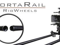 RigWheels PortaRail Collapsable Dolly Slider Rail System: