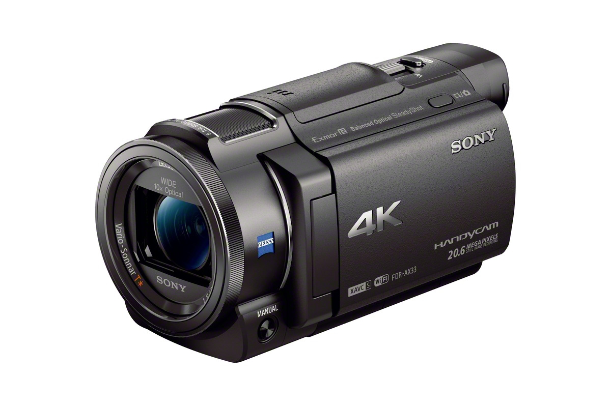 sony k fdr ax camera for  and more cameras announced