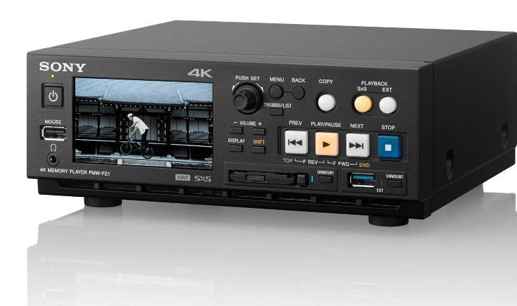 Sony pmw pz1 4k hd sxs memory player