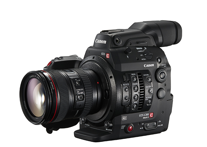 2K and 4K XF-AVC Recording Canon EOS C300 Mark II ...