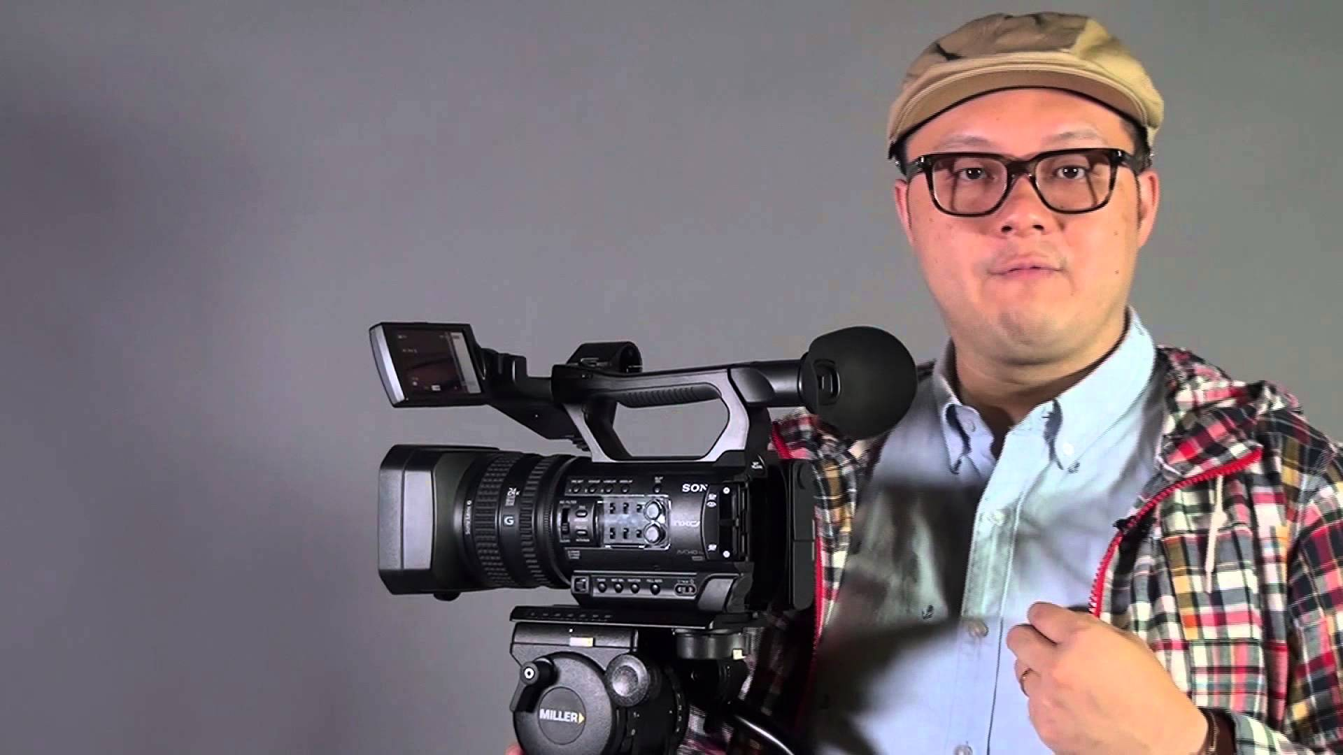 a look at the sony hxr nx100 camera. Black Bedroom Furniture Sets. Home Design Ideas