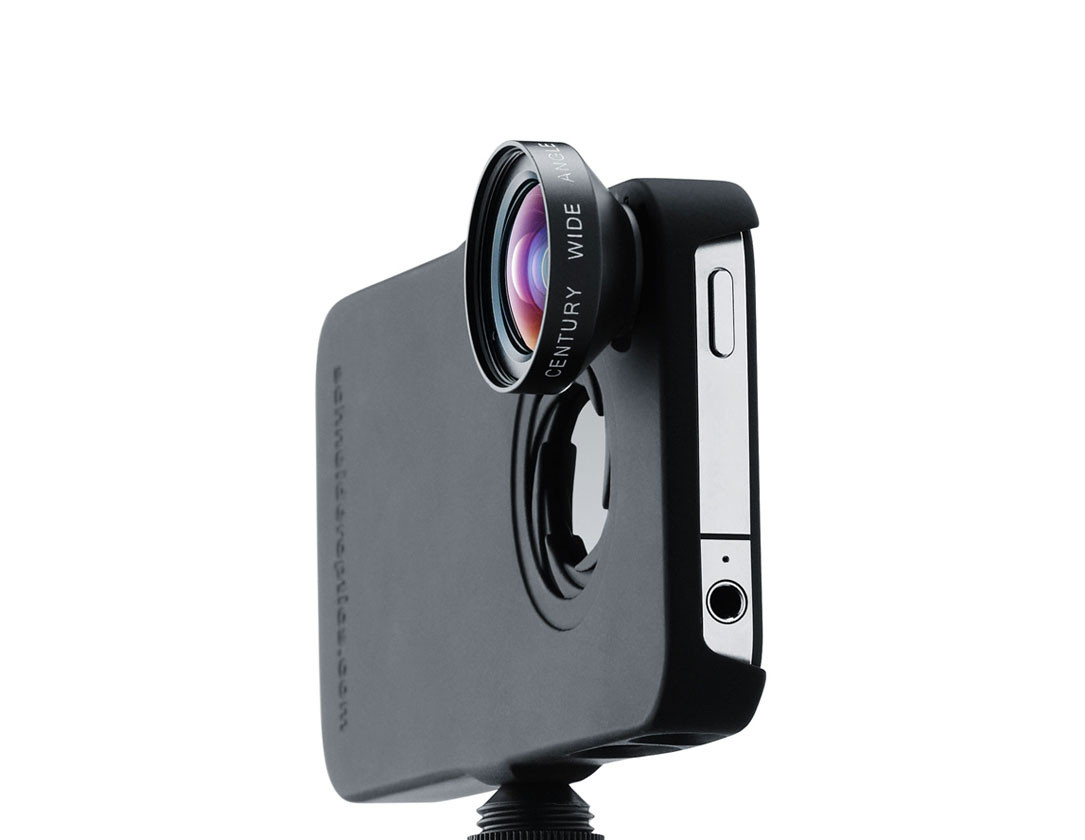 new concept c97b3 28a1c Schneider Optics New iPro Lens System for iPhone 4/4S